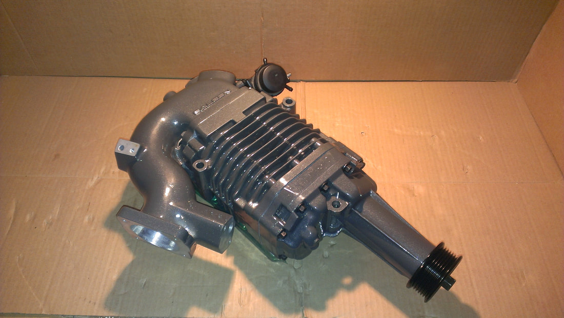 Saleen Stage1 Supercharger Services Ford Mustang Ford F150